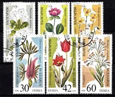 BULGARIE 1989 Mi.nr: 3735-3740 Gefährdete Pflanzen  Oblitérés - Used - Gebruikt - Usati