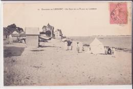 CPA - 76. Env De LORIENT - Un Coin De La Plage De LARMOR - Lorient