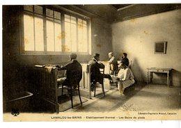 34  LAMALOU LES BAINS   ETABLISSEMENT THERMAL  LES BAINS DE PIEDS - Lamalou Les Bains