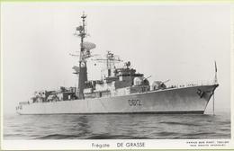 FREGATE    DE GRASSE   / Photo Marius Bar, Toulon / Marine - Bateaux - Guerre - Militaire - Warships