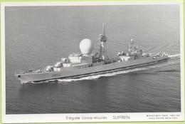 Frégate Lance-missiles   SUFFREN   / Photo Marius Bar, Toulon / Marine - Bateaux - Guerre - Militaire - Warships