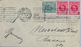 TRANSVAAL , SOBRE CIRCULADO ENTRE JOHANNESBURG Y NEUSTADT - Transvaal (1870-1909)