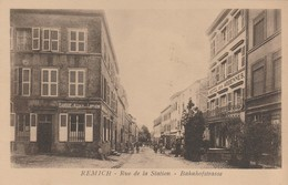 Remich , Rue De La Station , Bahnhofstrasse - Remich