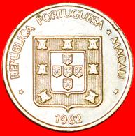 + PORTUGAL TERRITORY: MACAO ★ 50 AVOS 1982 LONGEVITY! LOW START ★ NO RESERVE! - Macau
