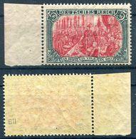 D. Reich Michel-Nr. 97BII Bogenrand Ungebraucht - Geprüft - Deutschland