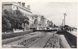 Postcard The Leas Folkestone Kent RP PU 1959  My Ref  B13394 - Folkestone