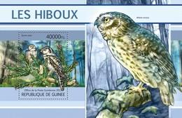 Guinea, 2013. [gu13112] Birds, Owls (s\s+m\s) - Owls