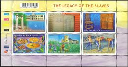 South Africa - 2004 Legacy Of The Slaves Sheet (**) # SG 1476a , Mi 1558-1563 - Nuovi