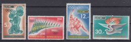 Indonesia 1968 Sport Olympic Games Mexico Mi#618-622 Mint Never Hinged - Indonesia