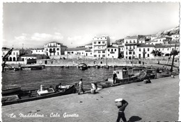 AP668 LA MADDALENA - OLBIA - CALA GAVETTA    - FG VIAGGIATA 10.6.1955FOTOGRAFICA - Sassari