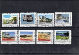 Lot De 8 Collectors : Voitures Et Autres.  Oblitérés - France