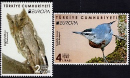 2019 - TURCHIA / TURKEY - EUROPA  CEPT - UCCELLI / BIRDS - SET COMPLETO. MNH. - 2019