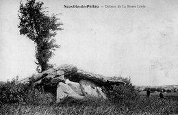 Neuville De Poitou - Dolmen De La Pierre Levée - Neuville En Poitou