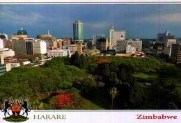 ZIMBABWE, HARARE, PARCIAL VIEW    [16992] - Zimbabwe