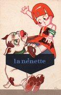 """Carte Publicité Chaussures Raoul - Dessin """" La Nenette """" - Advertising"""