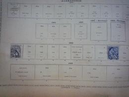 COLLECTION COLONIES FRANCAISES Feuille Album Maury Ancien - A Voir - 48 Scans - Verzamelingen (in Albums)