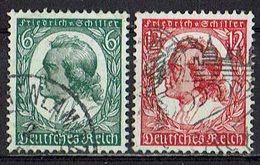 DR 1934 // Mi. 554/555 O - Deutschland