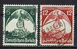 DR 1935 // Mi. 586/587 O - Deutschland