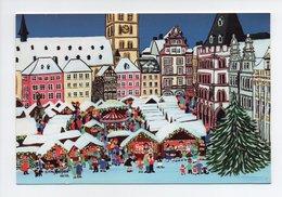 Carte à Volets: Erika Nietfeld, Marche De Noel, Unicef (19-1157) - Noël
