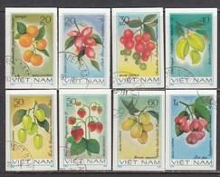 Vietnam 1981 - Fruits - Imperforated, Canceled - Vietnam