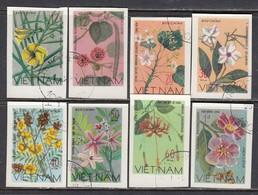Vietnam 1977 - Flowers - Imperforated, Canceled - Vietnam