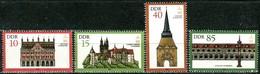 DDR - Mi 2869 / 2871 - ** Postfrisch (C) - Denkmalpflege - [6] Oost-Duitsland