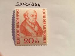 Germany Welfare Samuel Hahnemann 1955 Mnh - [7] Federal Republic