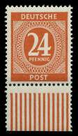 KONTROLLRAT ZIFFERN Nr 925a Postfrisch URA X830256 - Gemeinschaftsausgaben