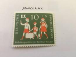 Germany Welfare Children 10+5 Mnh 1957 - [7] Federal Republic