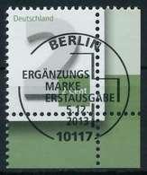 BRD 2013 Nr 3042I ESST Zentrisch Gestempelt ECKE-URE X83E21A - BRD