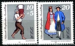 DDR - Mi 2882 / 2883 - ** Postfrisch (E) - 10+5-20Pf      Briefmarkenausstellung Halle 84 - [6] Oost-Duitsland