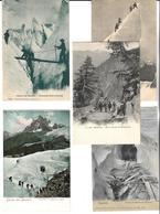 LOT  De  21  CPA  Et  CPSM   PF   De   CHAMONIX   (74)    //    TBE - Cartes Postales