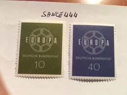 Germany Europa 1959  Mnh - [7] Federal Republic