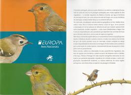 "PORTUGAL / AZORES/AÇORES / MADEIRA/MADERA- EUROPA 2019.- ""AVES -BIRDS -VÖGEL-OISEAUX""- FOLDER - 2019"