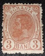 Romania 1900 King Charles I, 3b, Rottbraun, Unused With GUMM,mnh - 1881-1918: Carol I.