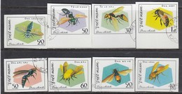 Vietnam 1982 - Bee - Imperforated, Canceled - Vietnam