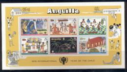 Anguilla 1979 IYC International Year Of The Child MS MUH - Anguilla (1968-...)