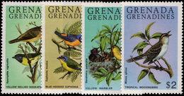 Grenada Grenadines 1980 Birds Unmounted Mint. - Grenada (1974-...)