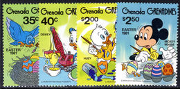 Grenada Grenadines 1981 Disney. Easter Unmounted Mint. - Grenada (1974-...)