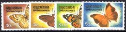 Grenada Grenadines 1982 Butterflies Unmounted Mint. - Grenada (1974-...)