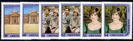 Grenada Grenadines 1982 Princess Of Wales Birthday Unmounted Mint. - Grenada (1974-...)