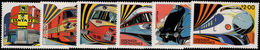 Grenada Grenadines 1982 Famous Trains Unmounted Mint. - Grenada (1974-...)