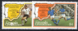 Grenada Grenadines 1982 World Cup Football Unmounted Mint. - Grenada (1974-...)