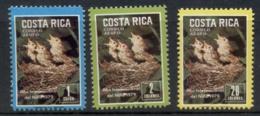 Costa Rica 1979 IYC International Year Of The Child, Birds MUH - Costa Rica