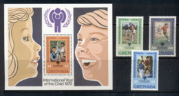 Grenada 1979 IYC International Year Of The Child + MS MUH - Grenada (1974-...)
