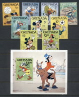 Grenada 1979 IYC International Year Of The Child Walt Disney + MS MUH - Grenada (1974-...)