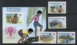 Grenada Grenadines 1979 IYC International Year Of The Child + MS MUH - Grenada (1974-...)