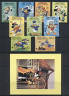 Grenada Grenadines 1979 IYC International Year Of The Child, Walt Disney + MS  MUH - Grenada (1974-...)