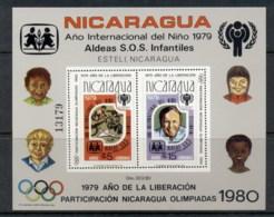 Niacargua 1980 IYC International Year Of The Child MS MUH - Nicaragua