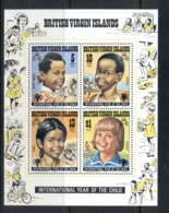 Virgin Is 1979 IYC International Year Of The Child MS MUH - British Virgin Islands